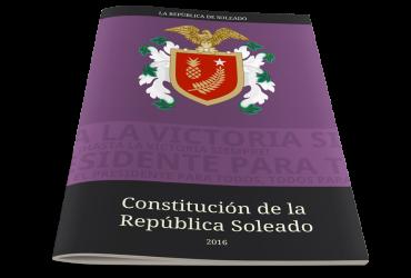 Constitución de la República Soleado