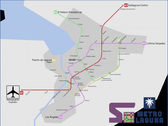 Schema Metro Laguna