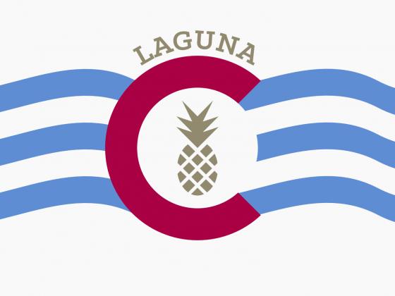 Flagge Laguna